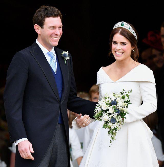 princess eugenie of york marries mrjack brooksbank