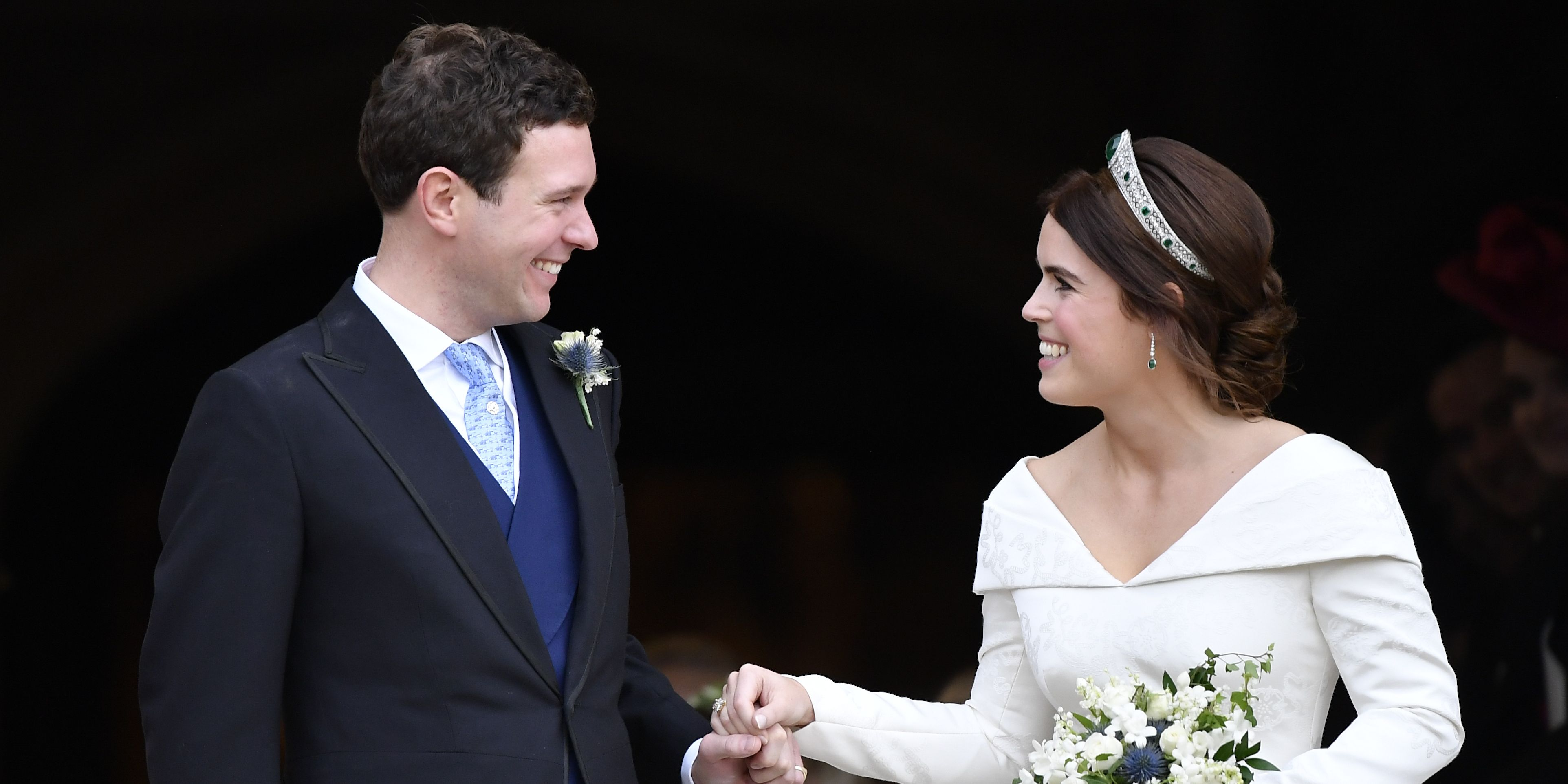 Princess Eugenie wedding bouquet