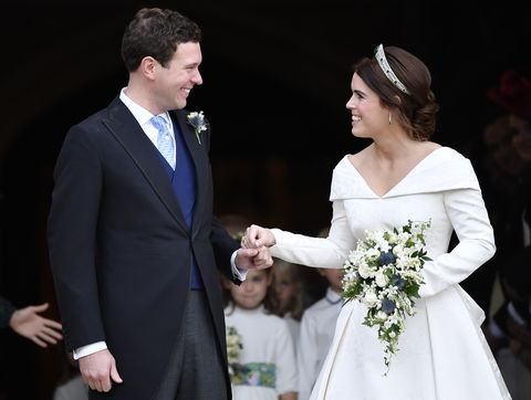 Princess Eugenie wedding bouquet