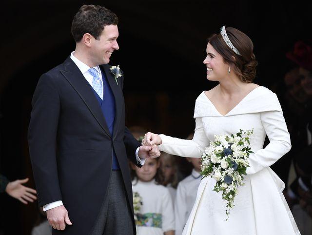 ユージェニー王女とジャック・ブルックスバンクの結婚式