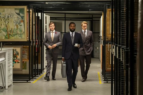 Quattro nuove immagini dedicate a Tenet + robert pattinson + joh david washington