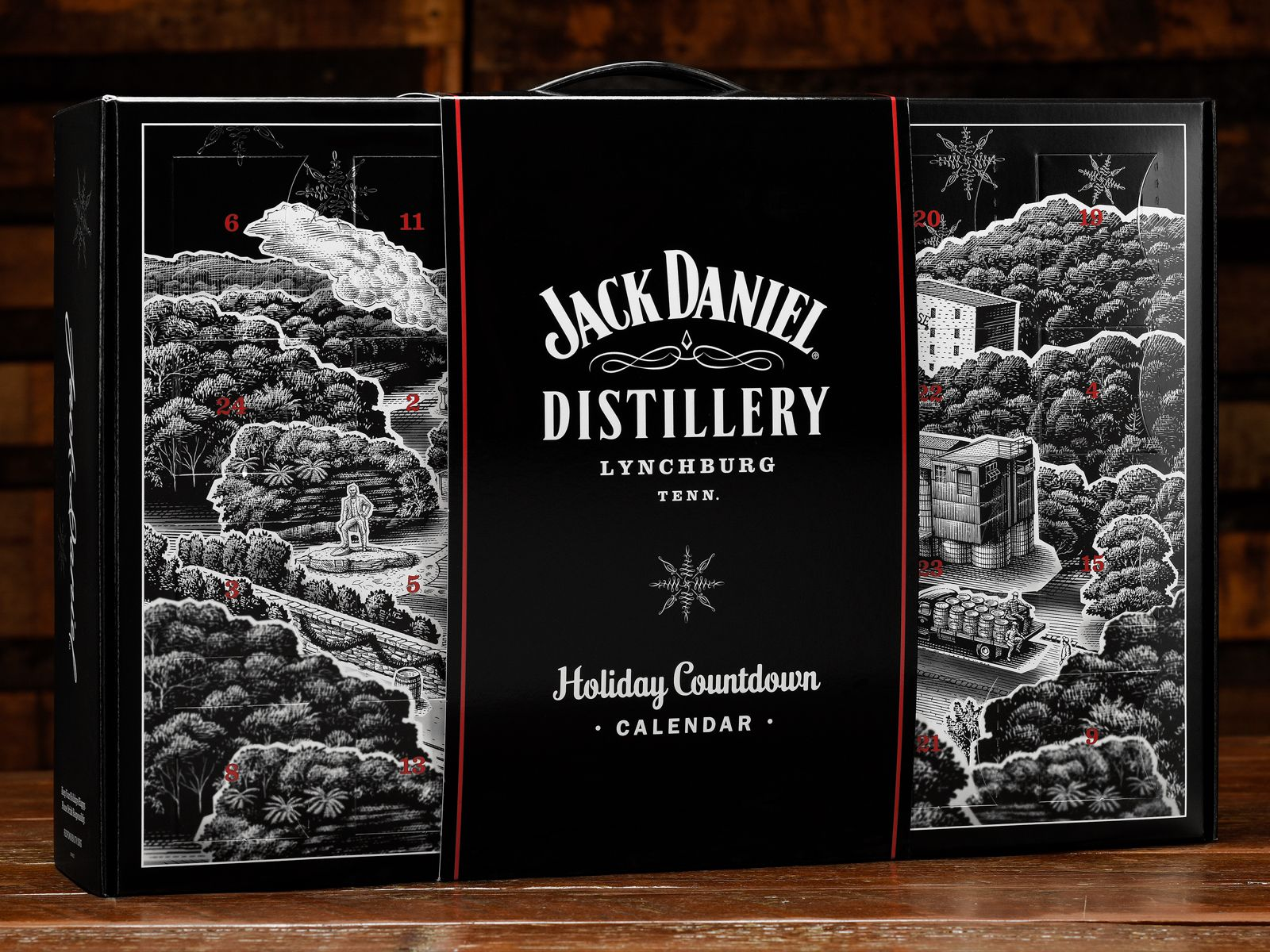 Jack Daniels Is Releasing A Holiday Advent Calendar Full Of
