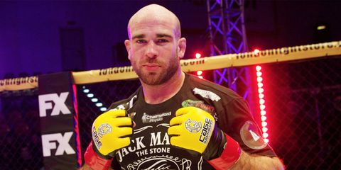 Jack Mason MMA eye injury