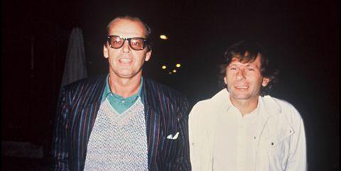 roman polanski and jack nicholson, 1983