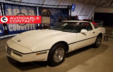 The Importance of the World's Only 1983 Corvette