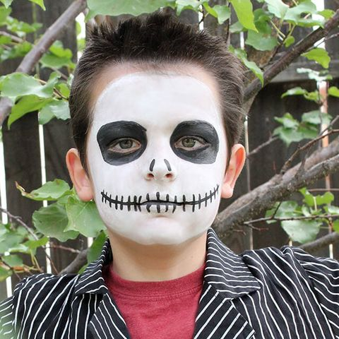 30 Easy Halloween Face Paint Ideas Halloween Makeup Ideas For Kids 2020
