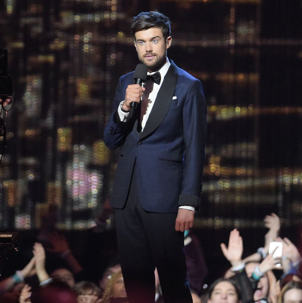 """Brits host Jack Whitehall blasted for his """"disrespectful and inappropriate"""" joke about Little Mix"""