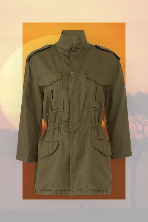 Clothing, Outerwear, Sleeve, Jacket, Khaki, Coat, Top, Collar, Pocket, Uniform,