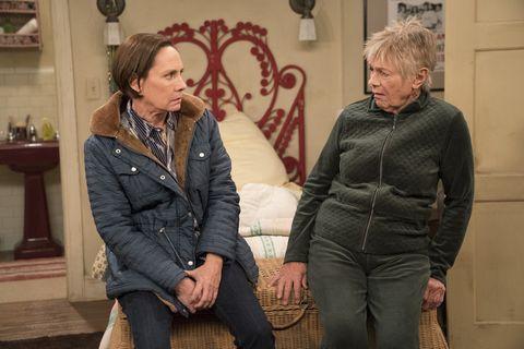 Jackie and Bev on Roseanne lou