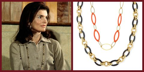 Jackie Kennedy, Gold Chains