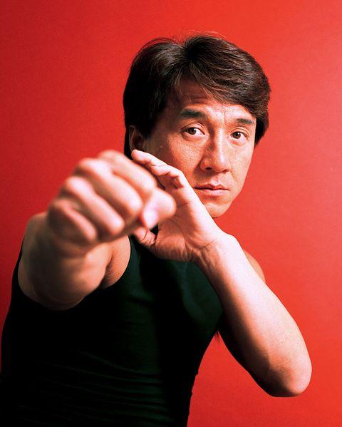 Jackie Chan Portraits - by George Pimentel