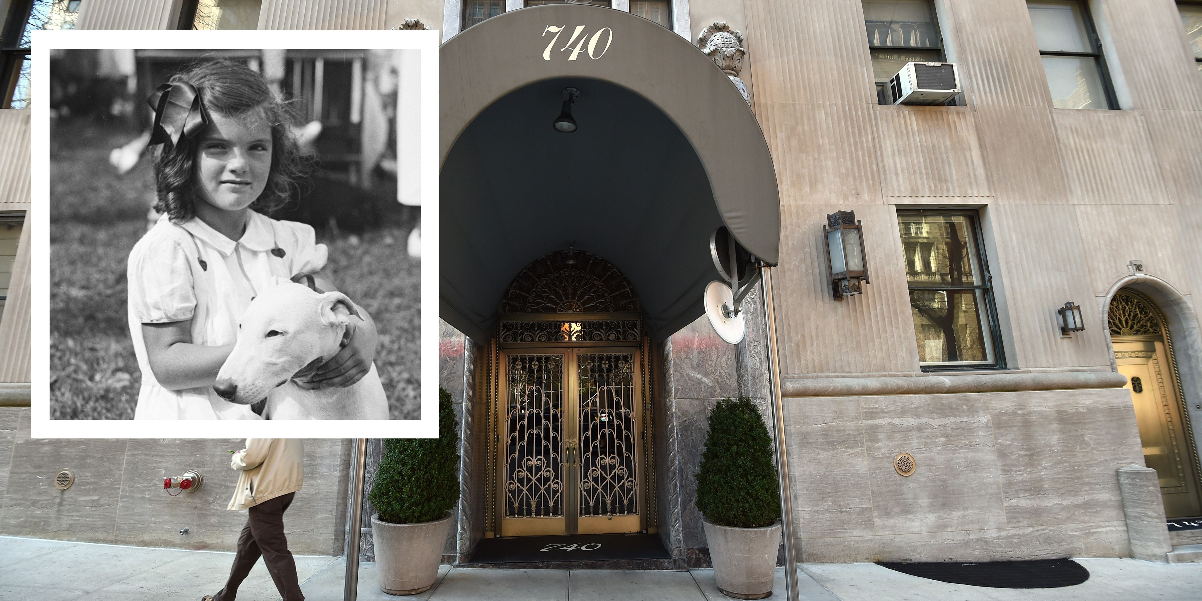 Jackie Kennedy 740 Park Avenue