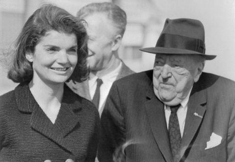 Biografia Mies van der Rohe, ritratto con Jackie Kennedy