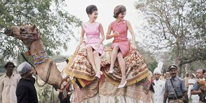 Jackie Kennedy and Lee Radziwill