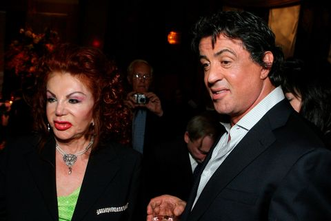 Sylvester Stallone y su madre Jackie