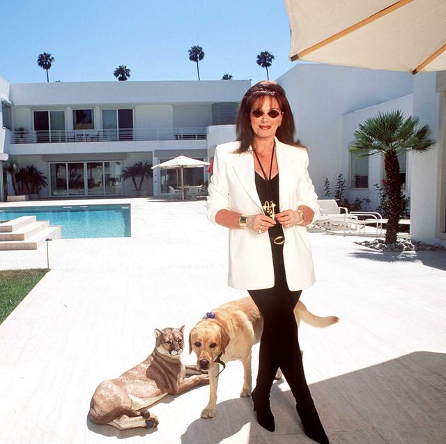72795beverly hills,californiajackie collins at jackies new home in beverlyhills she designed herself photo by paul harrisgetty images