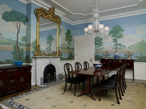 the jackson place dining room, which is part of blair house