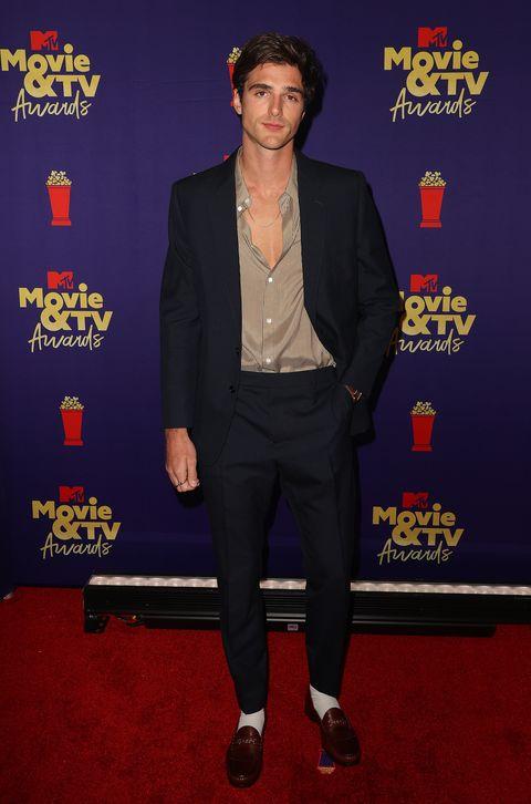 jacob elordi at 2021 mtv movie and tv awards