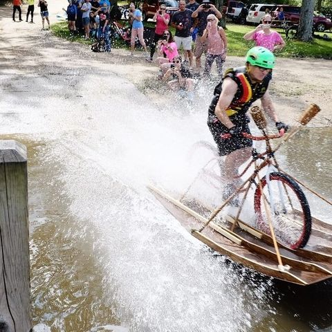 What If You Could Launch a Bike Instead of a Boat?
