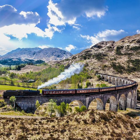 steam train scotland