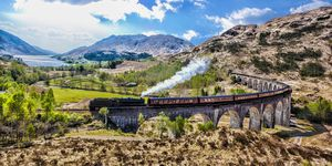 Steam train Scotland