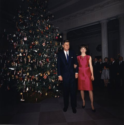 jacqueline kennedy christmas tree