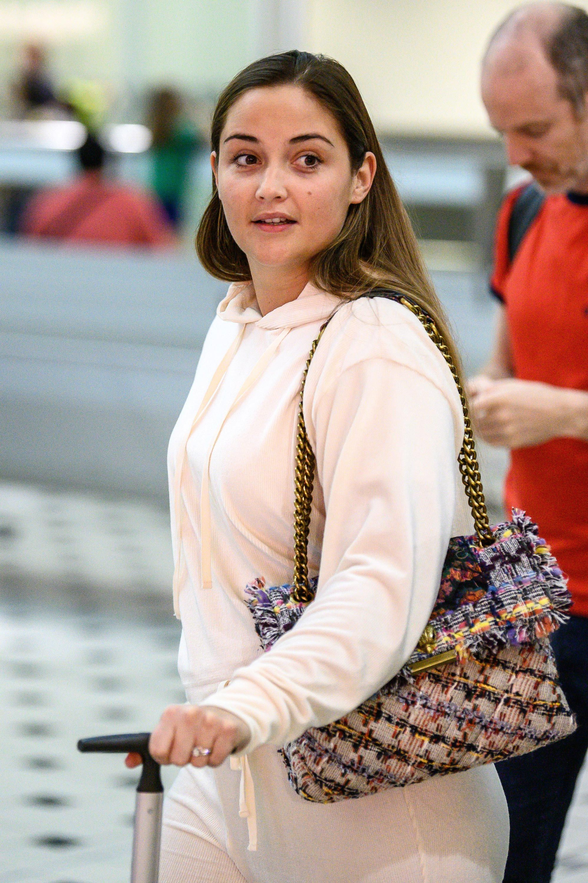 EastEnders star Jacqueline Jossa arrives in Australia ahead of I'm a Celebrity 2019 series