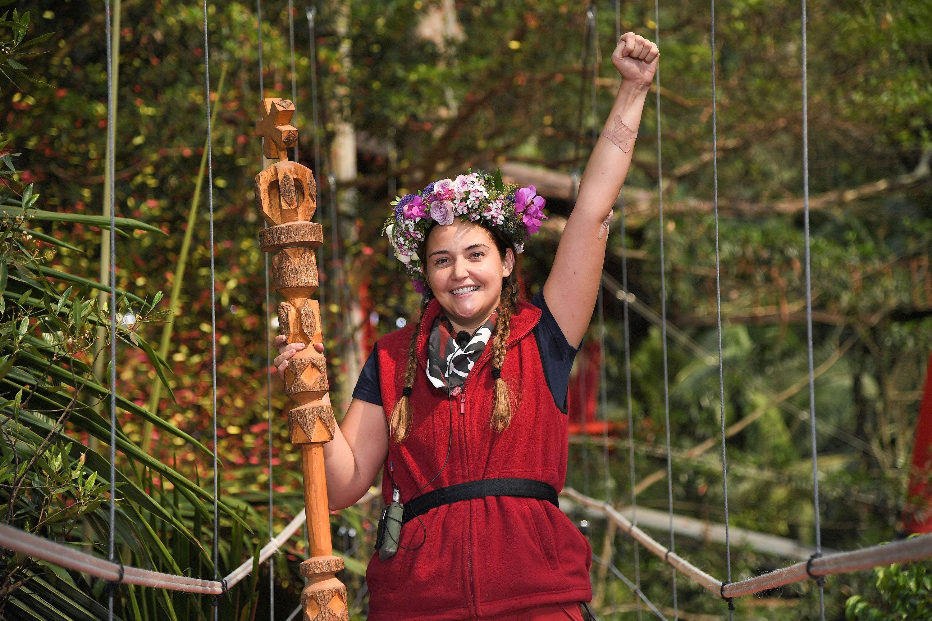 "I'm A Celebrity winner Jacqueline Jossa ""absolutely fine"" after cancelling her interviews"