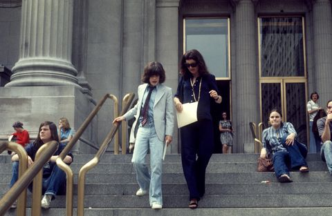 3ca1afdfbdf Jackie Kennedy with John F. Kennedy Jr. leaving the Metropolitan Museum of  Art.