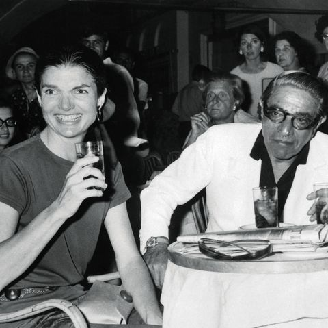 Jacqueline Onassis and Her Husband
