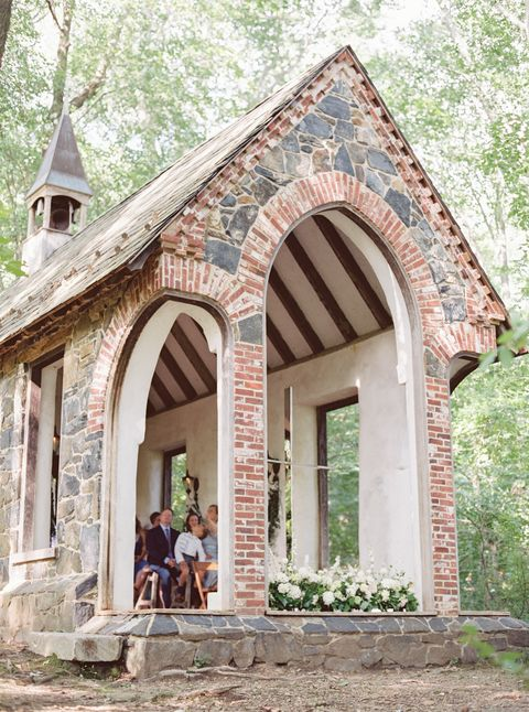 Building, House, Arch, Property, Chapel, Architecture, Tree, Real estate, Place of worship, Cottage,