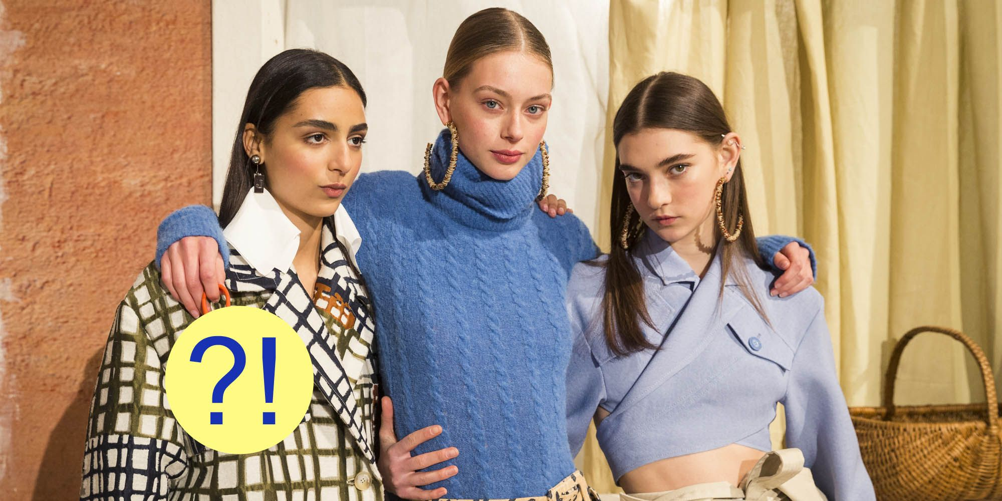 Jacquemus : First Line - Paris Fashion Week Womenswear Fall/Winter 2019/2020
