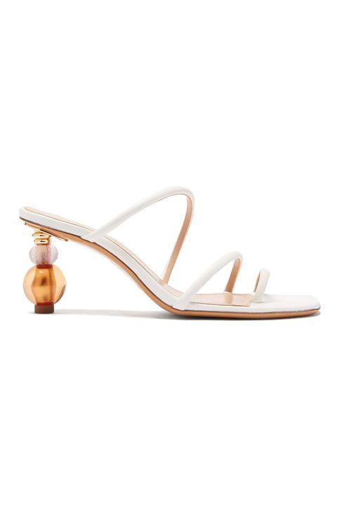 Jacquemus shoe, sculptural heels