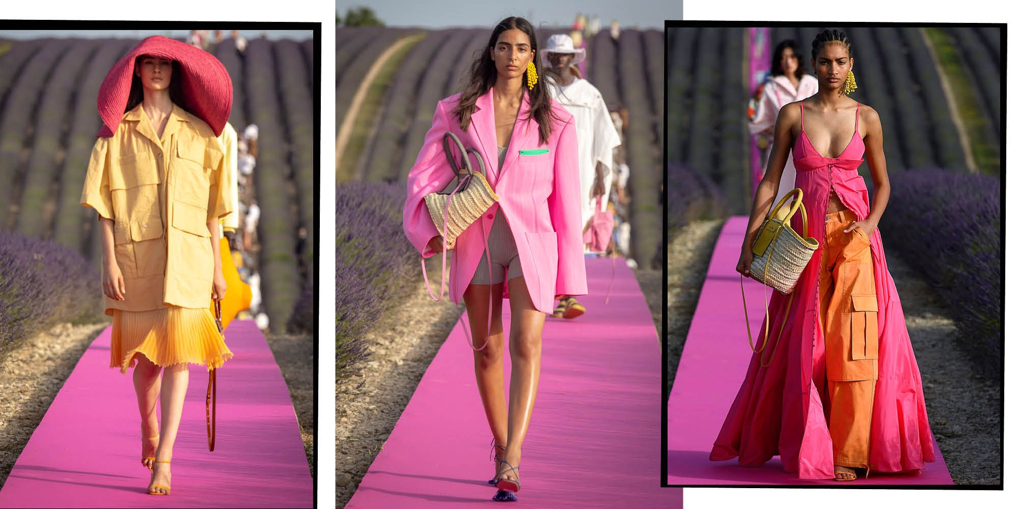 How Jacquemus Stole The Internet (Again) With Tiny Bags, Diaphanous Dresses And A Provençal Lavender Field