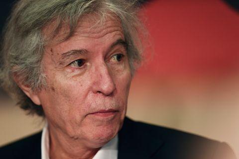 el director de Rodin,Jacques Doillon, en la 70 edicion del festival de cine deCannes