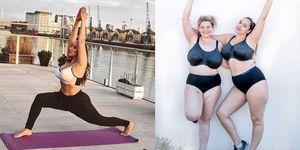 Jada Sezer plus size model workout