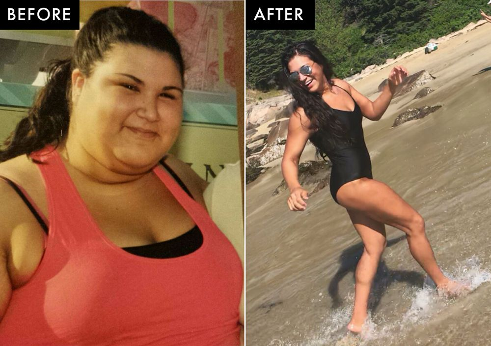 who lost weight by walking