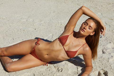 triangolo, bikini triangolo, bikini con i laccetti