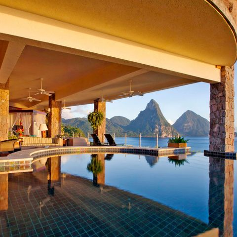 best hotel beds st lucia