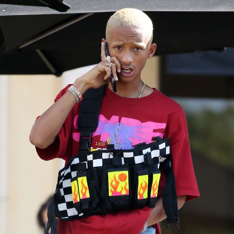 Pink, Fashion, Street fashion, Shoulder, T-shirt, Costume, Magenta, Child, Style, Fashion design,
