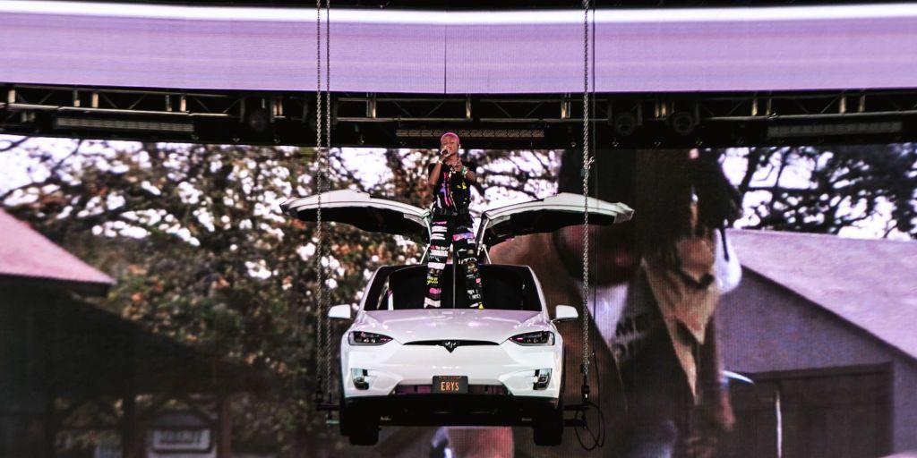 Jaden Smith Coachella Icon 2019
