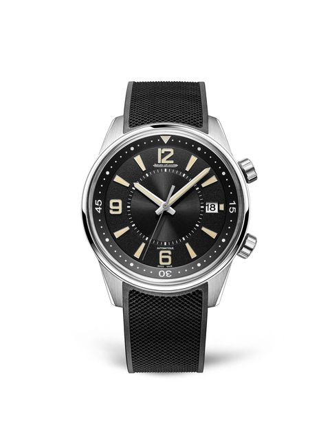 Watch, Analog watch, Watch accessory, Black, Strap, Fashion accessory, Jewellery, Material property, Font, Hardware accessory,