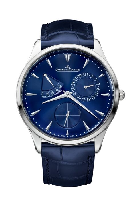 jaeger le coultre master ultra thin rÉserve de marche stainless steel   39 mm   automatic   self winding