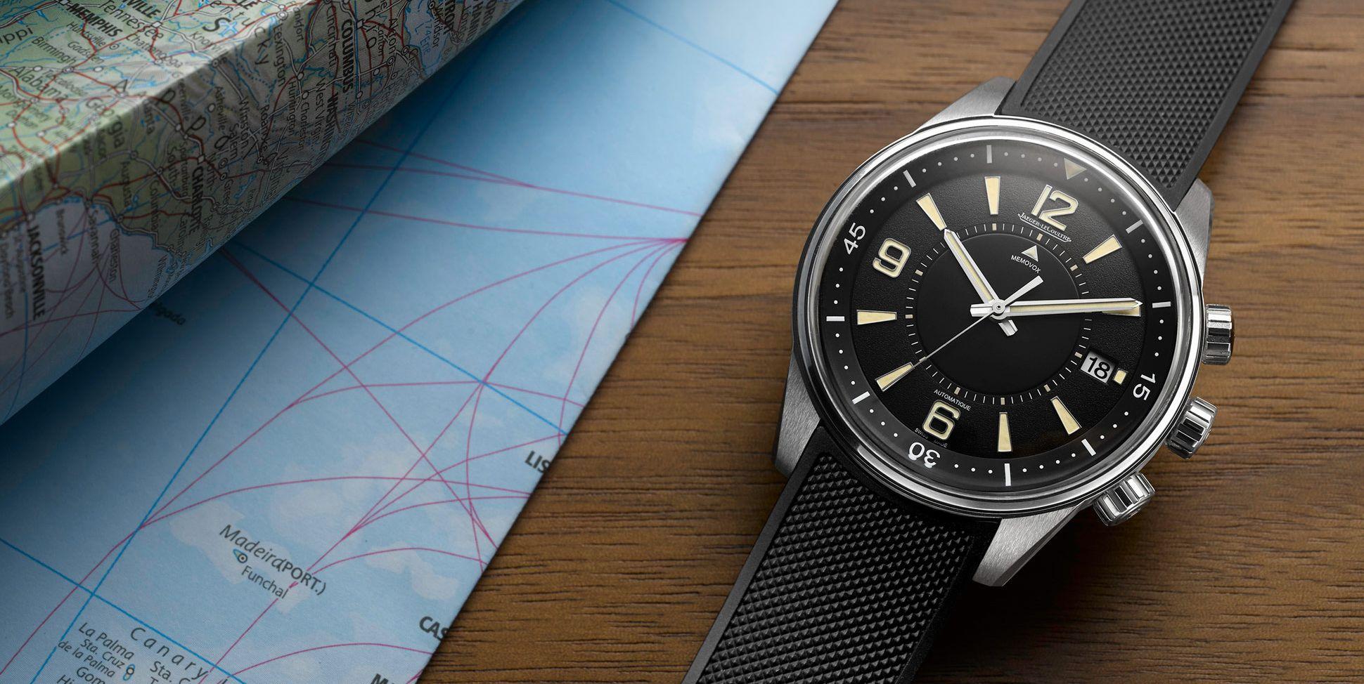 Horloge Jaeger-LeCoultre Polaris Memovox