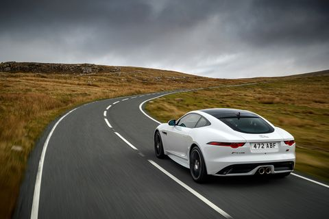 The Manual Jaguar F Type Is Dead Road Track