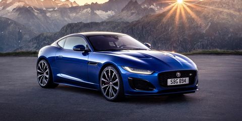 jaguar f type 2021