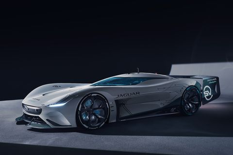 jaguar vision gt sv gran turismo concept video game car