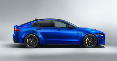Jaguar's XE SV Project 8 Gets a Touring Spec That's Wingless but Still Looks Wild