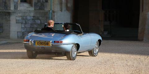Land vehicle, Vehicle, Car, Regularity rally, Convertible, Classic car, Sports car, Coupé, Sedan, Jaguar e-type,