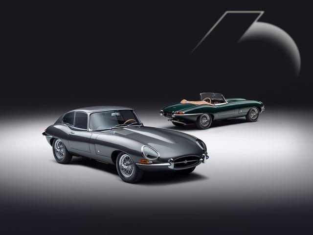 jaguar classic etype 60